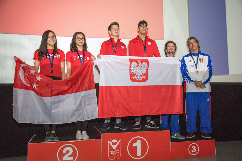 Dynamic Podium from 2nd FAI WISC, Canada 2017