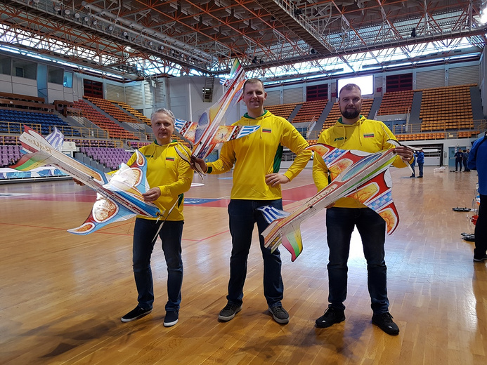 Lithuanian aeromodelling team 2019