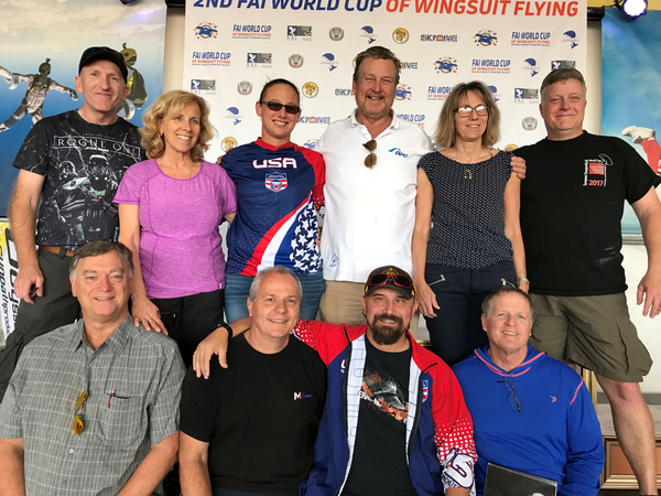 Wingsuit Flying Training Judges